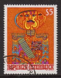 Austria SG2278 1991 Modern Art 5s. good/fine used